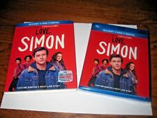 Love SIMON: Nick Robinson, Jennifer Garner] Blu-ray/DVD+ Digital ] NEW Fast Ship