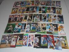 GARY SHEFFIELD - Huge 50-card lot! 1990 Leaf-Score+! BREWERS-PADRES! BV$$$