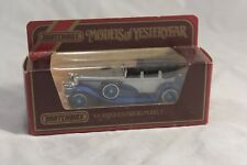 MATCHBOX MODELS OF YESTERYEAR SCALE 1:43 Y-4 1930 DUESENBERG MODEL J IN SILVER