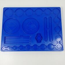 384968 EMPTY BLUE TRAY Wheel Kenner's Spirograph No. 401 Replacement PART