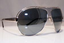 DOLCE & GABBANA Mens Womens Vintage Sunglasses Silver Pilot DG 2028 05/6G 22436