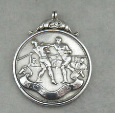 Sterling Silver Hallmarked Fob NCP 1933  Welter Weight Boxing Welterweight