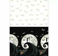 NIGHTMARE BEFORE CHRISTMAS JACK SKELLINGTON HALLOWEEN TABLE COVER, NEW