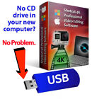Shotcut Professional HD Video Editing Software Suite-4K Movie-Windows & Mac-USB