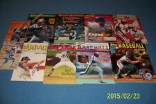 Sports Illustrated MONTREAL EXPOS Lot CARTER Gullickson TIM RAINES Andre DAWSON
