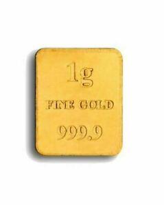 1 Gram GOLD BAR 1g *** BRAND NEW SEALED FAST DELIVERY ***