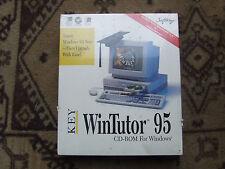 Vintage WinTutor 95 Cd-Rom for Windows - New Cd in Sleeve
