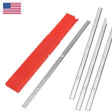 """4 Pack 12-1/2"""" HSS Planer Blades for Delta 22-560 22-565 Craftsman 21758 24797"""