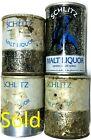 Schlitz Malt Liquor choice of small old steel empty cans 8oz Milwaukee BO and TO