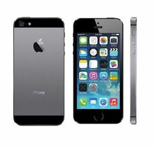 APPLE IPHONE 5S 32gb Nero Sbloccato Dual Core 8Mp Camera Ios12 4g Lte Smartphone