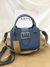 cef5b0b1a784 NEW Burberry Small Leather Buckle Tote Crossbody Shoulder Bag