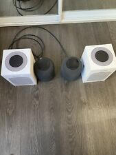 Two Apple HomePod Smart speakers  In Perfect Condition - MQHW2B/A