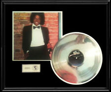 MICHAEL JACKSON OFF THE WALL RARE LP GOLD RECORD PLATINUM  DISC ALBUM FRAME