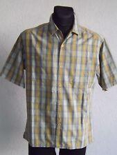 Ralph Lauren Polo Jeans Co mens cotton short sleeve check shirt size M