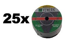 Inox Trennscheiben Winkelschleifer Trennschleifer Metall 75 x 1,6 x 10 mm 25-tlg
