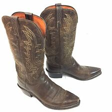 Lucchese Boots 1883 Leather Cowboy 6 EE Western