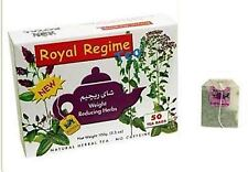 2 (Two) PACKS Royal Regime Weight Loss Diet Slimming 50 Tea Bags Detox