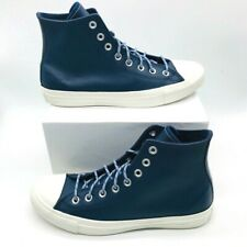 Converse Chuck Taylor All Star Unisex High Sneakers Blue 163338C M 7.5 W 9.5 New