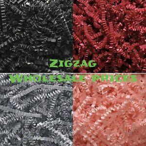 RECYCABLE ZIGZAG SHREDDED PAPPER ACID FREE HAMPER GIFT BAG BOX PACKAGING FILLER