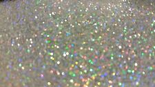 .008 CHROME PRISM Metal Flake, 4oz Holographic Silver Custom Paint Additive