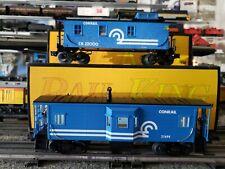 RAIL KING #30-7717 & RK7708L Conrail Cabooses