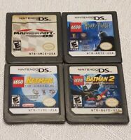 Mario Kart Lego Harry Potter Lego Batman 1 & 2 Video Games Nintendo DS Tested