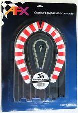 """AURORA AFX 70614 GENUINE slot car acc. 3"""" R HAIRPIN CURVE NIB"""