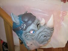 Nickelodeon Teenage Mutant Ninja Turtles Rocksteady Rhino Rubies Mask Rubber New