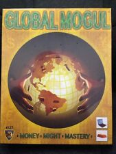 Global Mogul Board Game Mayfair Games 4127 Money Might Mastery