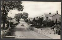 Postcard Waddington near Clitheroe Lancashire houses in The Village RP