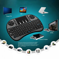 2.4GHz Funk Mini Tastatur Wireless Keyboard Air Mouse Touchpad für TV Android