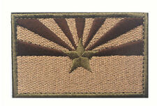 Arizona STATE FLAG USA ARMY MORALE TACTICAL MILITARY BADGE HOOK PATCH