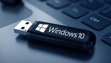 Microsoft Windows 10 Pro USB Flash Boot Drive + Activation Key 32 or 64 bit 16GB