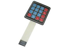 Keypad Tastatur 4x4 Arduino AVR 8pin