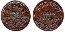 Civil War Token: Arcade House/62 Broad / Providence,Ri: Fuld # 700D-9A:Near Mint