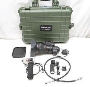 """Fujinon HA22X7.8BERM M-48 2/3"""" HD lens With rear studio controls, 2X extender"""