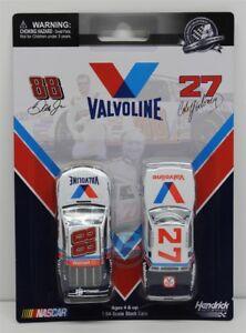 Cale Yarborough 1982 Valvoline & Dale Earnhardt Jr 2015 Valvoline 2 Pack 1:64