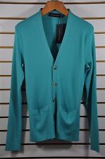 NWT M's Ralph Lauren Black Label, Ribbed VN Cardigan. Sz,M. $695. Made In Italy.
