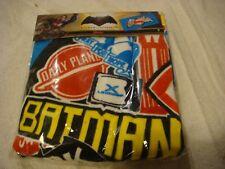 Batman V Superman logo character beach towel