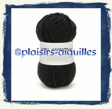 10 pelotes de laine PHIL HARMONY NOIR neuve