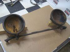 Original 1929 30 31 Cadillac V8 V12 V16 headlight buckets & Mounting Bar
