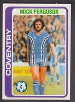 ALAN GREEN BLUE BACK 1976 TOPPS-FOOTBALL -#051- COVENTRY CITY