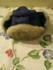 Vintage, The Arctic Trooper Hat Large Stormproof Moulton, Trim with Genuine Fur.