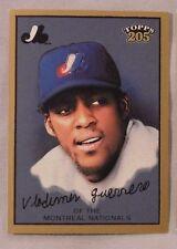 2003 Topps 205 Vladimir Guerrero Expos #15 Baseball Card Logo White variant