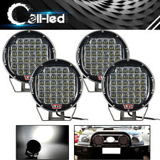 4x 9inch 185W Offroad Led Driving Light Pods SUV 4X4 Bumper Fog Spot Lamp Round
