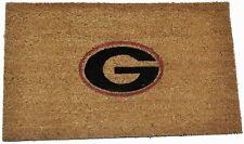 "Georgia Bull Dogs Natural Coir Door mat Size 18"" x 30"" new"