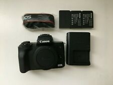 Canon EOS M50 mirrorless camera body - Used - Great Condition - 3 batteries