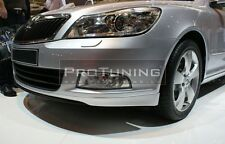 Front Bumper spoiler lip Valance addon under bumper splitter Chin lid Brand New