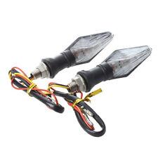 2 x 12 LED indicatori moto giallo Azzurro B4T6