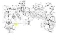 Mountfield TRASMISSIONE DRIVE BELT-rivolta solo modelli dal 2007 t30m, 1435e